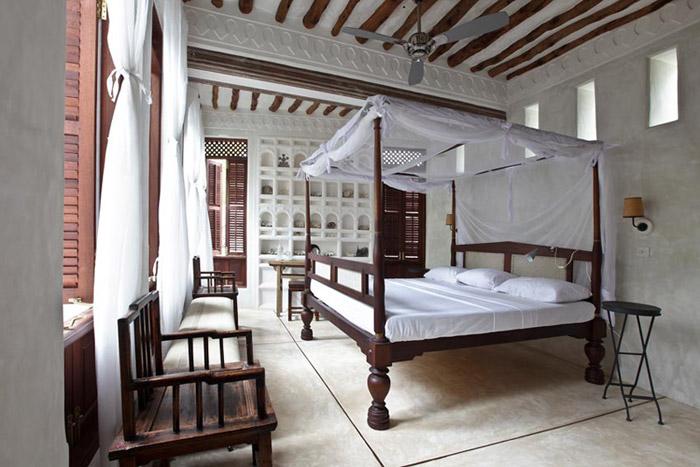 Un hotel en Lamu