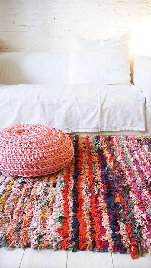 Alfombra bereber de colores