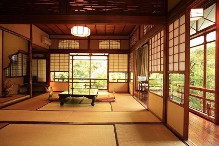 interior de un acasa tradicional japonesa