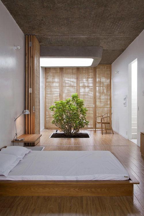 Elementos naturales en la decoracion zen