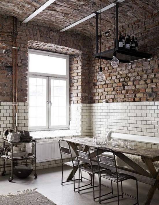 Interiorismo con decoracion industrial
