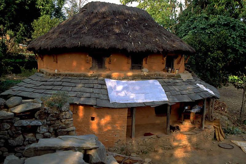 Tea house en el circuito del Annapurna
