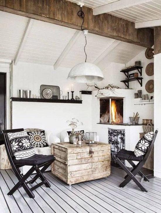 Un hogar escandinavo