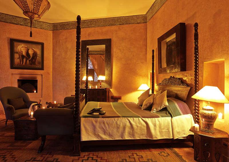 Habitación del Riad Noire Divoire
