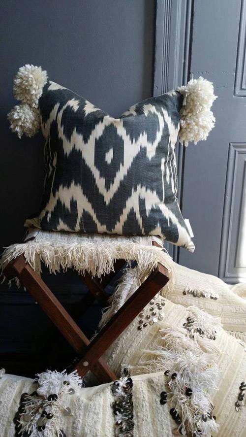 colorida y diseños ikat para el hogar