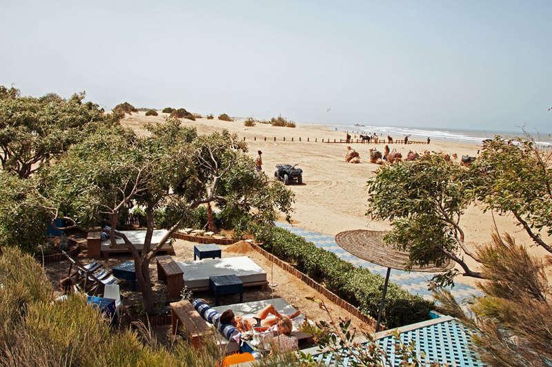 Paseos en caballo y camellos en las playas de Essaouira