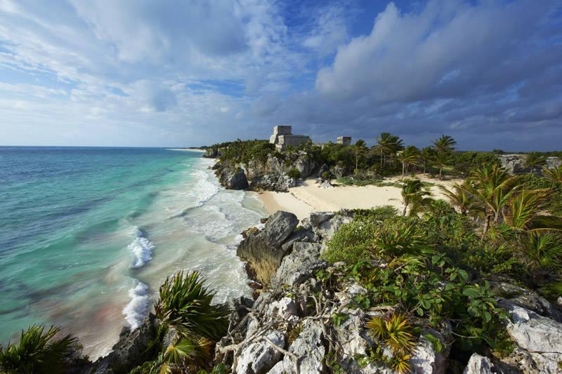 Las ruinas mayas de Tulúm