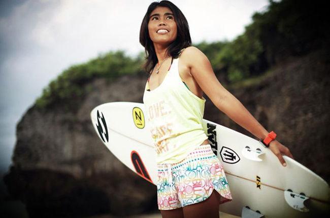 Surfista en Bali