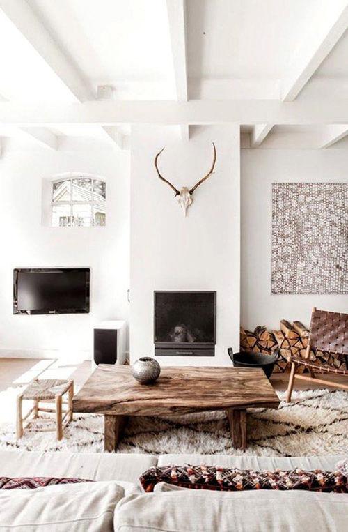 calidez y confort en el hogar escandinavo