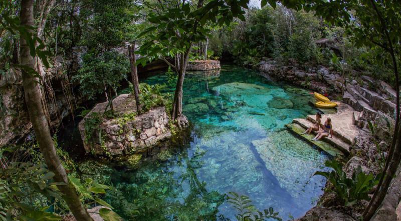 Cenote Kantunchi en Tulúm
