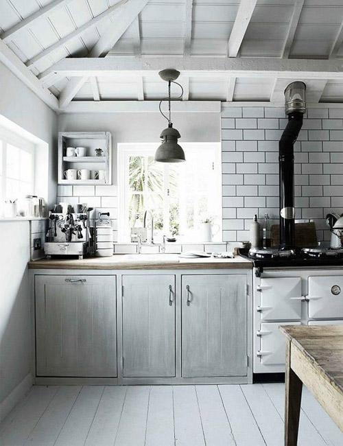 colores neutros en las casas de estilo escandinavo