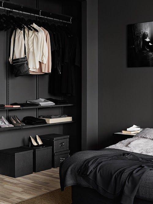 El color negro: decoración con estilo