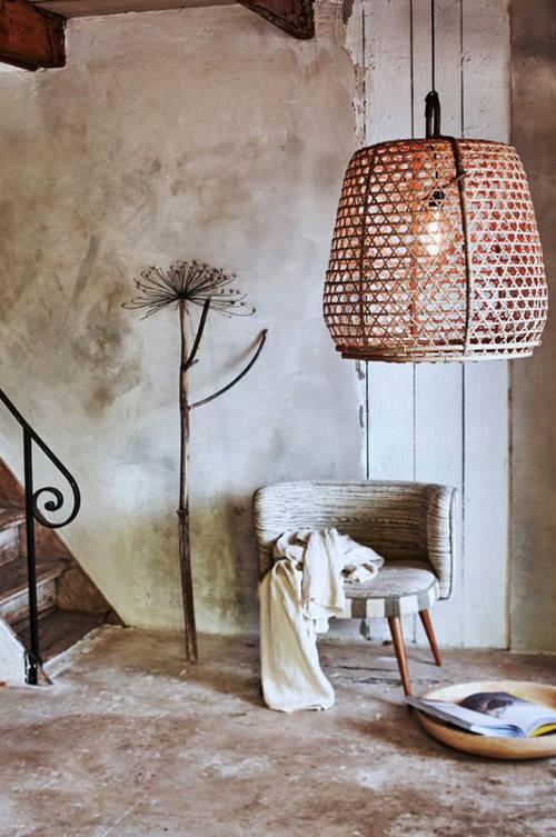 El mimbre y la decoración del hogar