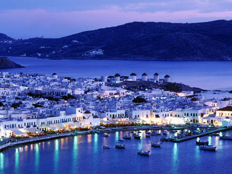 Mykonos en Grecia