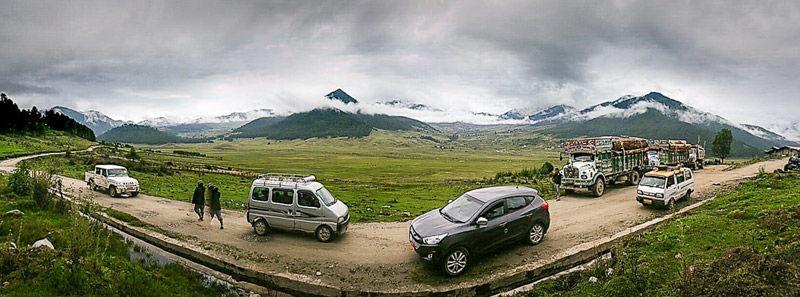 Carreteras de Bután