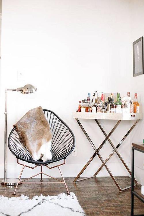 La silla Acapulco en la decoración de la casa