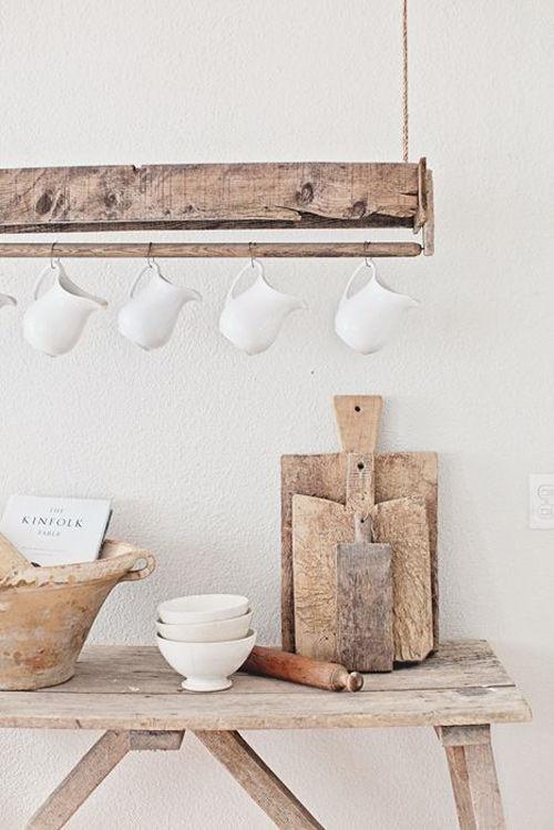 La madera en la decoración de cocinas