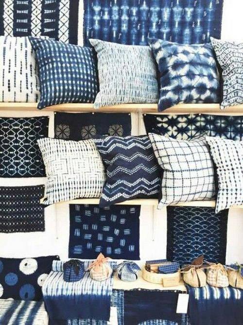 fundas batik para cojines con estilo