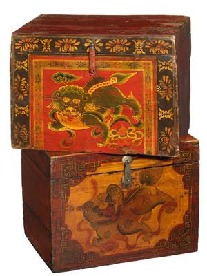 Cajas del Tibet