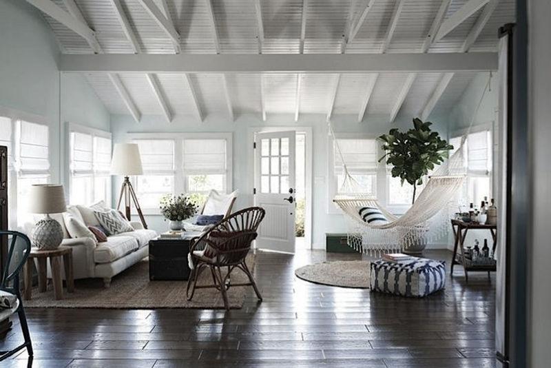 Las hamacas en la decoración de interiores