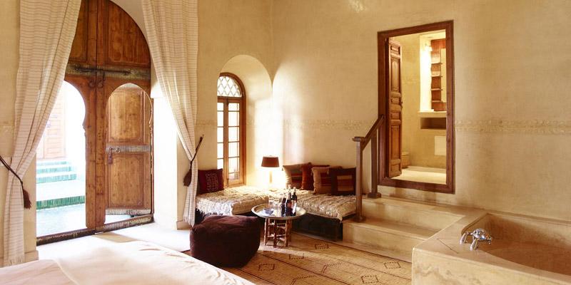 Habitación de El Fenn Hotel en Marrakech