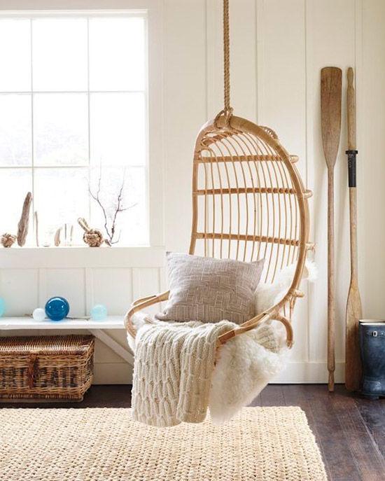 Sillas colgantes c mo crear un factor wow en casa for Sillas colgantes para jardin