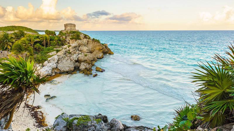 Las playas de Tulúm en México