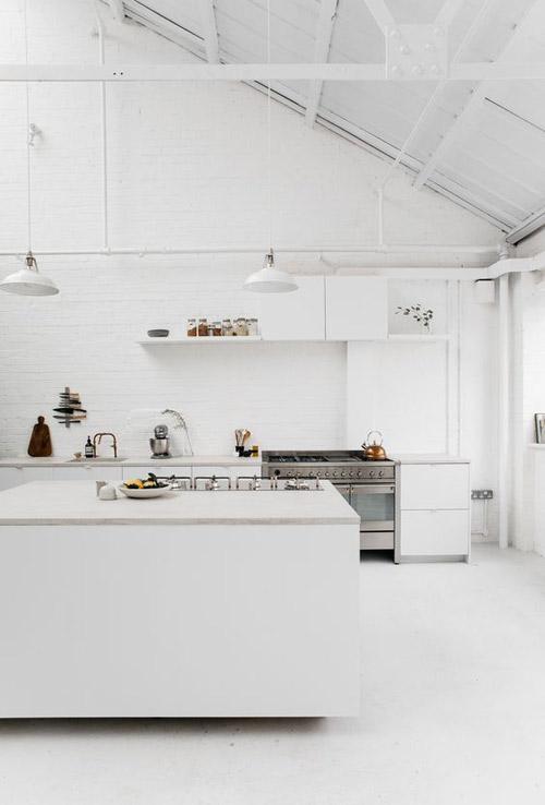 cocinas minimalistas nordicas