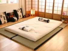 El futón en la casa japonesa