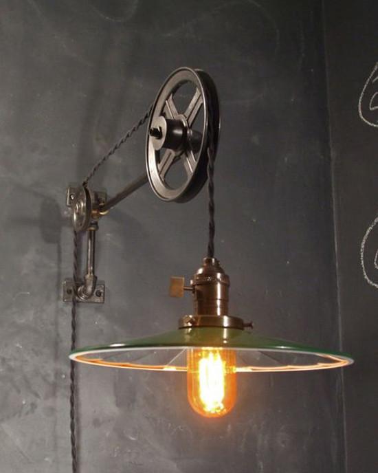 Lampara vintage estilo industrial