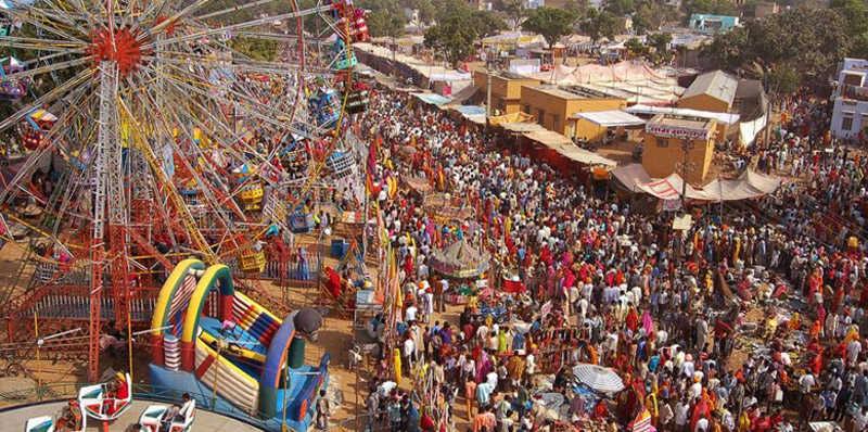 Feria en Pushkar