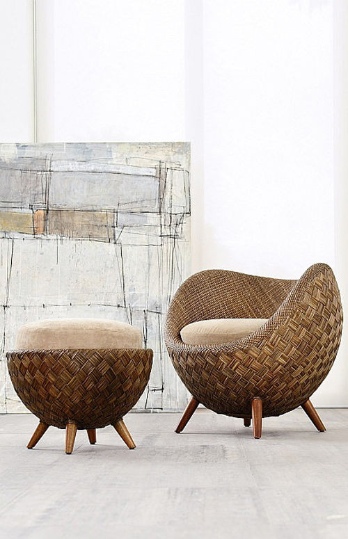 Muebles de mimbre todas sus virtudes para decorar - Sofas de mimbre ...