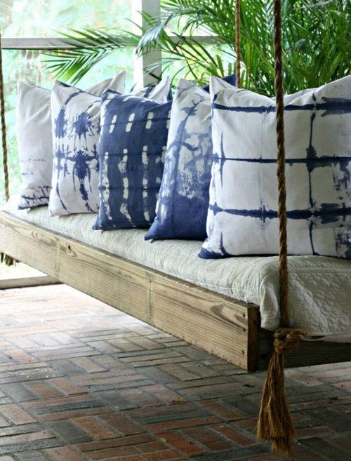 cojines batik para la decoración del hogar