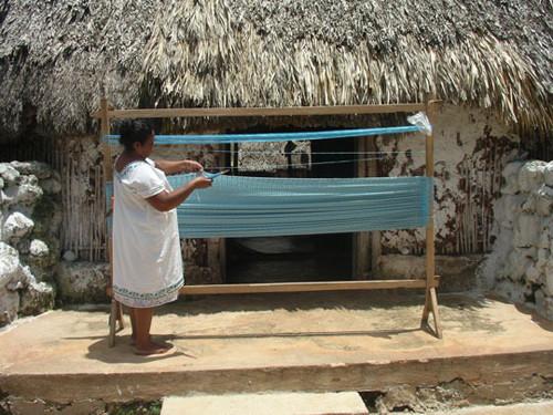 Tiras de nylon para hacer una silla Acapulco
