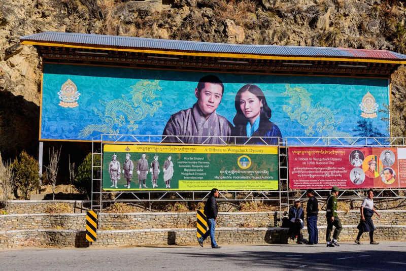 Familia real de bután