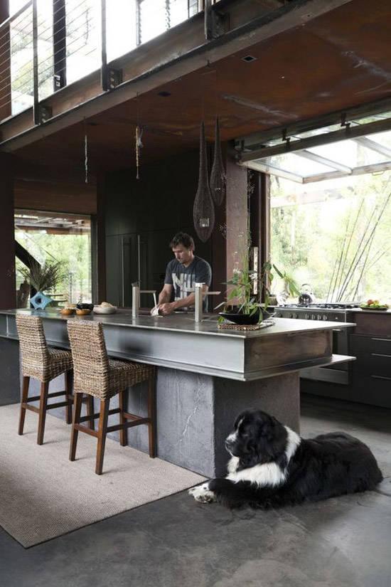 Decoraci n industrial los lofts m s espectaculares for Cocina industrial tipo loft