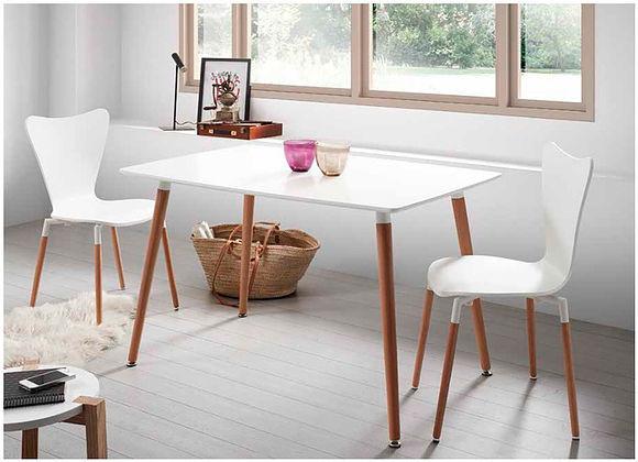 el blanco en los muebles de estilo nordico