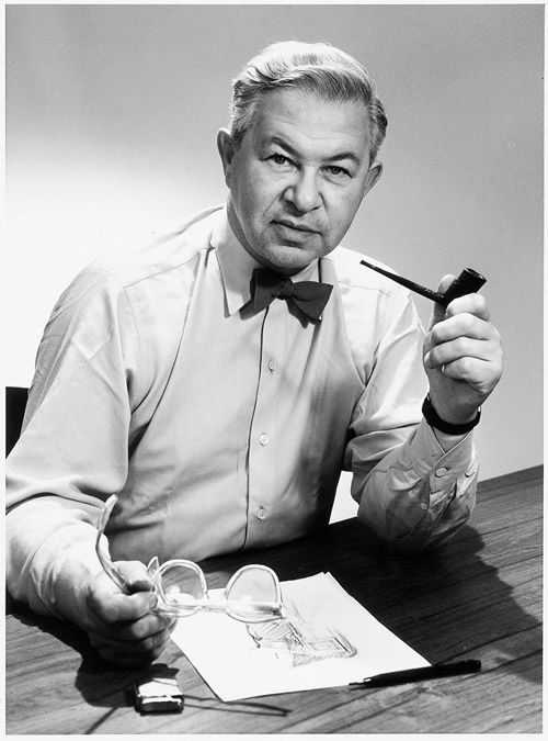 Arne Jacobsen, creador de la Egg Chair