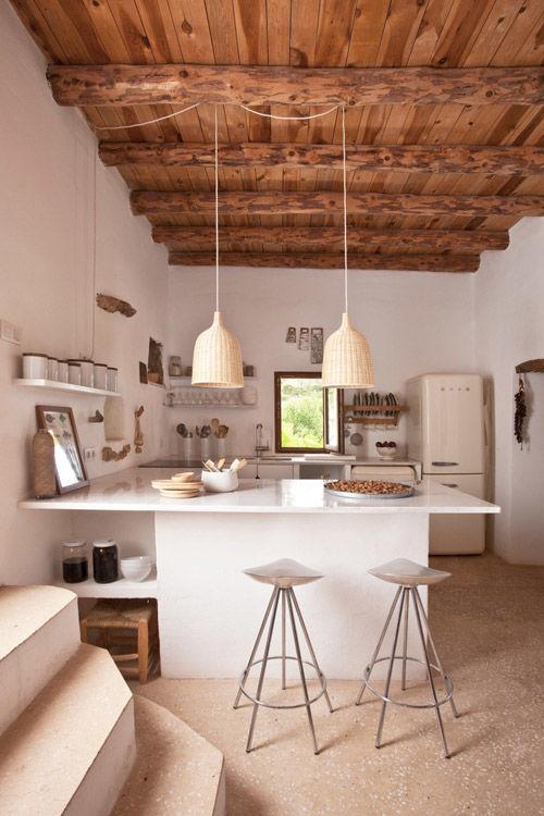 Una antigua casa de pages en Ibiza
