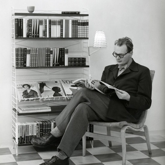 Nisse Strinning, creador de la estantería String
