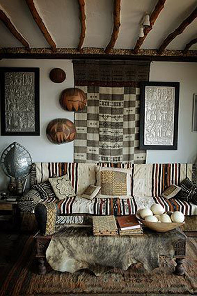 Decoración africana