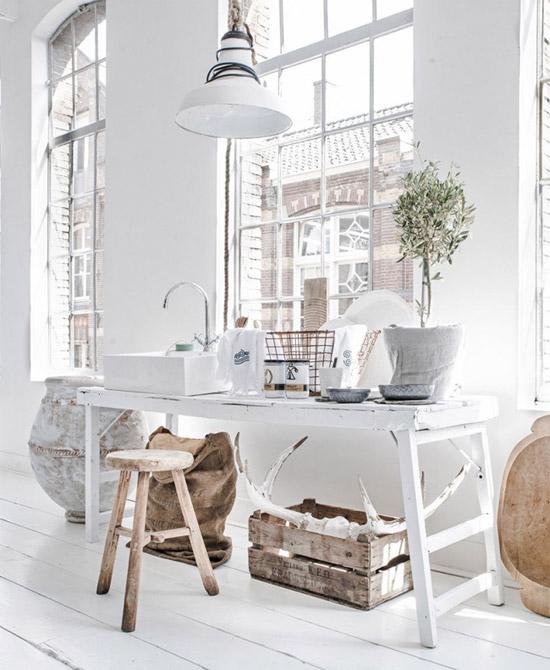 Casa con decoración nórdica