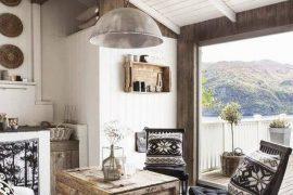 Casa rústica en Noruega