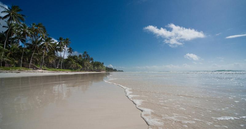 playas de arena blanca en la isla de Lamu, en kenia