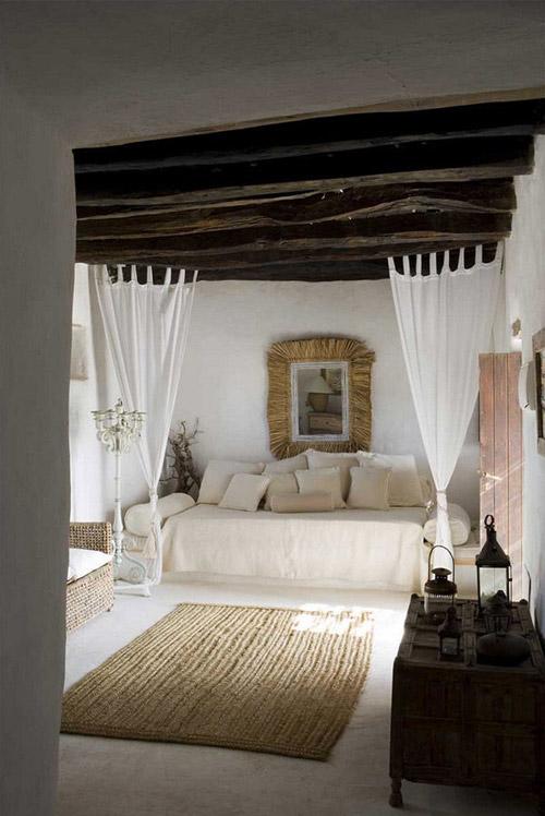 Muebles y complementos de mimbre para la decoración del hogar