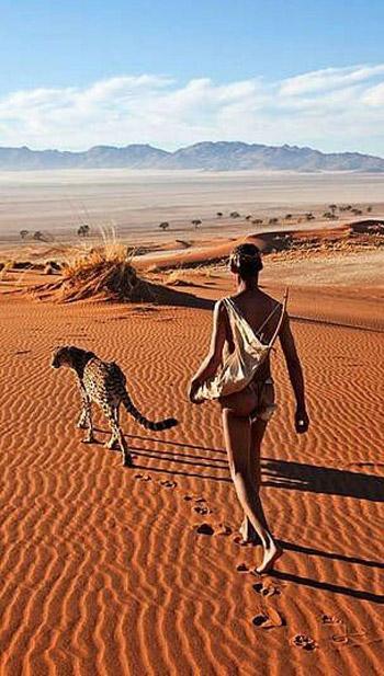 El desierto de Namib