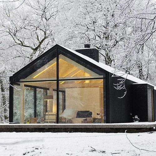 Casas de madera escandinava
