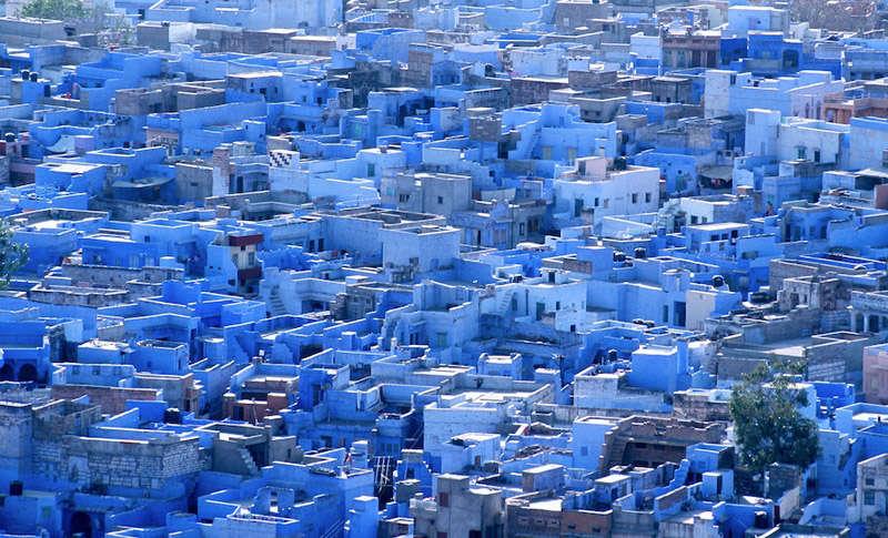 Vista de la ciudad de Jodhpur