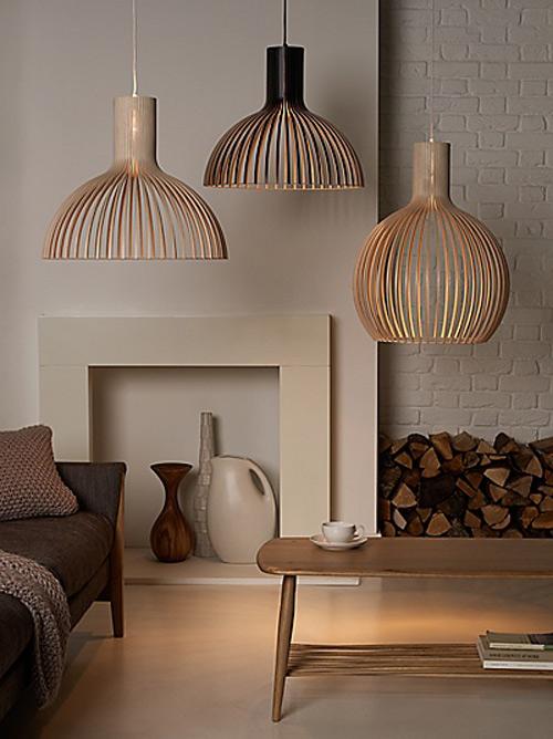 Lámparas de Madera: Iluminación con estilo