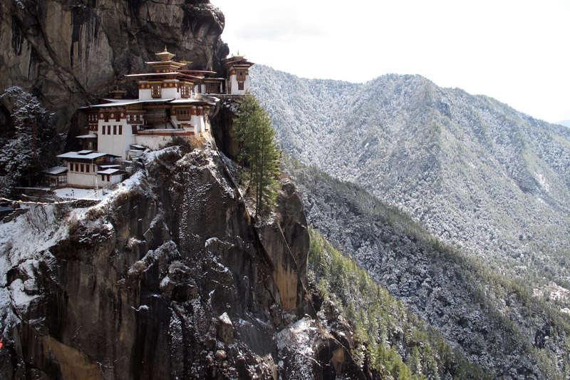 Taktsang Palphug en Buthán